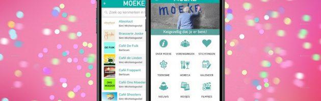 Handige App MOEKE! Voor alle info in de gemeente Sint-Michielsgestel